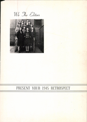 Page 5, 1945 Edition, Pitcairn High School - Retrospect Yearbook (Pitcairn, PA) online yearbook collection