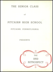 Page 5, 1950 Edition, Pitcairn High School - Retrospect Yearbook (Pitcairn, PA) online yearbook collection