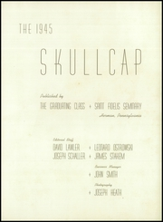 Page 5, 1945 Edition, St Fidelis Seminary - Skullcap Yearbook (Herman, PA) online yearbook collection