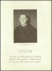 Page 9, 1945 Edition, St Fidelis Seminary - Skullcap Yearbook (Herman, PA) online yearbook collection