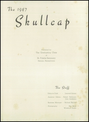 Page 5, 1947 Edition, St Fidelis Seminary - Skullcap Yearbook (Herman, PA) online yearbook collection