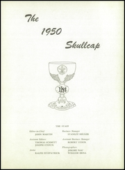 Page 7, 1950 Edition, St Fidelis Seminary - Skullcap Yearbook (Herman, PA) online yearbook collection