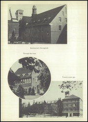 Page 10, 1952 Edition, St Fidelis Seminary - Skullcap Yearbook (Herman, PA) online yearbook collection