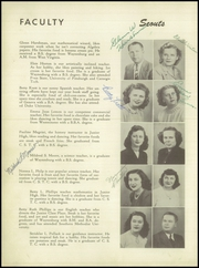 Page 12, 1949 Edition, Centerville High School - Cehiscan Yearbook (West Brownsville, PA) online yearbook collection