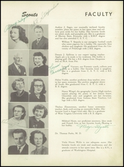 Page 13, 1949 Edition, Centerville High School - Cehiscan Yearbook (West Brownsville, PA) online yearbook collection