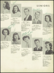 Page 17, 1949 Edition, Centerville High School - Cehiscan Yearbook (West Brownsville, PA) online yearbook collection