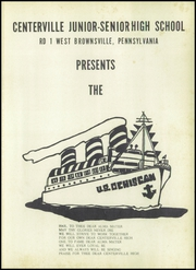 Page 5, 1953 Edition, Centerville High School - Cehiscan Yearbook (West Brownsville, PA) online yearbook collection