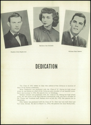 Page 8, 1953 Edition, Centerville High School - Cehiscan Yearbook (West Brownsville, PA) online yearbook collection