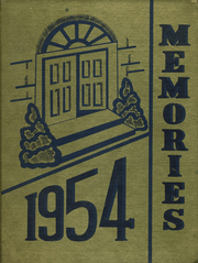 1954 Edition, Spangler High School - Memories Yearbook (Spangler, PA)