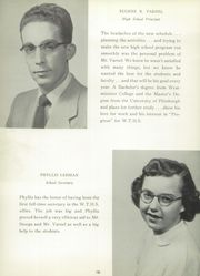 Page 14, 1954 Edition, Washington Township High School - Washtonian Yearbook (Apollo, PA) online yearbook collection