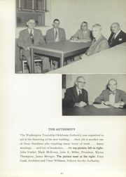 Page 15, 1954 Edition, Washington Township High School - Washtonian Yearbook (Apollo, PA) online yearbook collection