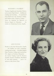 Page 17, 1954 Edition, Washington Township High School - Washtonian Yearbook (Apollo, PA) online yearbook collection