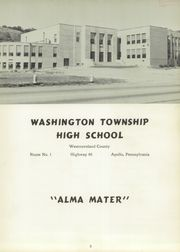 Page 7, 1954 Edition, Washington Township High School - Washtonian Yearbook (Apollo, PA) online yearbook collection