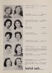 Page 17, 1957 Edition, Elizabeth Seton High School - Clipper Yearbook (Pittsburgh, PA) online yearbook collection