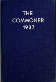 Page 1, 1937 Edition, Bryan College - Commoner Yearbook (Dayton, TN) online yearbook collection