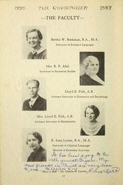 Page 14, 1937 Edition, Bryan College - Commoner Yearbook (Dayton, TN) online yearbook collection