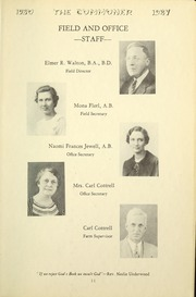Page 15, 1937 Edition, Bryan College - Commoner Yearbook (Dayton, TN) online yearbook collection