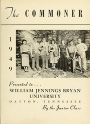 Page 5, 1949 Edition, Bryan College - Commoner Yearbook (Dayton, TN) online yearbook collection