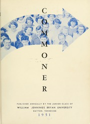 Page 5, 1951 Edition, Bryan College - Commoner Yearbook (Dayton, TN) online yearbook collection