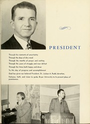 Page 7, 1951 Edition, Bryan College - Commoner Yearbook (Dayton, TN) online yearbook collection