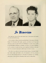 Page 8, 1951 Edition, Bryan College - Commoner Yearbook (Dayton, TN) online yearbook collection