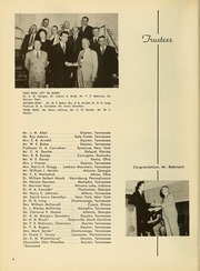 Page 10, 1952 Edition, Bryan College - Commoner Yearbook (Dayton, TN) online yearbook collection