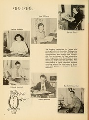 Page 14, 1952 Edition, Bryan College - Commoner Yearbook (Dayton, TN) online yearbook collection