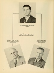 Page 16, 1952 Edition, Bryan College - Commoner Yearbook (Dayton, TN) online yearbook collection