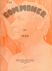 Page 7, 1952 Edition, Bryan College - Commoner Yearbook (Dayton, TN) online yearbook collection