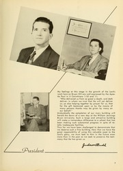 Page 9, 1952 Edition, Bryan College - Commoner Yearbook (Dayton, TN) online yearbook collection