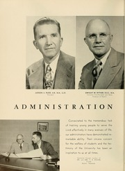 Page 12, 1953 Edition, Bryan College - Commoner Yearbook (Dayton, TN) online yearbook collection