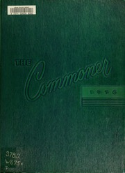 Page 1, 1956 Edition, Bryan College - Commoner Yearbook (Dayton, TN) online yearbook collection