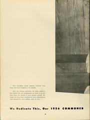 Page 14, 1956 Edition, Bryan College - Commoner Yearbook (Dayton, TN) online yearbook collection