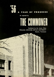 Page 5, 1956 Edition, Bryan College - Commoner Yearbook (Dayton, TN) online yearbook collection