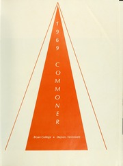 Page 5, 1969 Edition, Bryan College - Commoner Yearbook (Dayton, TN) online yearbook collection