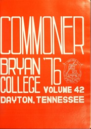 Page 5, 1976 Edition, Bryan College - Commoner Yearbook (Dayton, TN) online yearbook collection