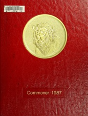 1987 Edition, Bryan College - Commoner Yearbook (Dayton, TN)