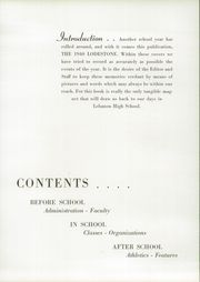 Page 11, 1940 Edition, South Lebanon High School - Ionian Yearbook (Iona, PA) online yearbook collection