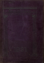 1931 Edition, Mahanoy Township High School - Corinthian Yearbook (Mahanoy City, PA)
