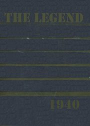 1940 Edition, Shickshinny High School - Legend Yearbook (Shickshinny, PA)