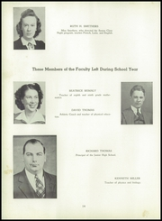 Page 14, 1942 Edition, Shickshinny High School - Legend Yearbook (Shickshinny, PA) online yearbook collection