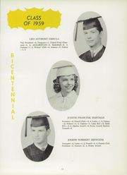Page 17, 1959 Edition, St Adalbert High School - Albertonian Yearbook (Pittsburgh, PA) online yearbook collection
