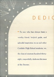 Page 6, 1938 Edition, Coaldale High School - Stentor Yearbook (Coaldale, PA) online yearbook collection