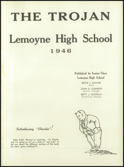 Page 5, 1946 Edition, Lemoyne High School - Pioneer Yearbook (Lemoyne, PA) online yearbook collection