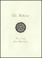 Page 5, 1949 Edition, Lititz High School - Reflector Yearbook (Lititz, PA) online yearbook collection
