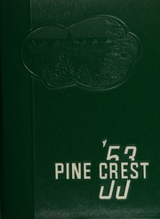 1953 Edition, Morrison Cove High School - Pine Crest Yearbook (Martinsburg, PA)