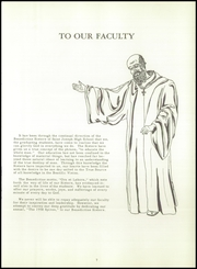 Page 11, 1958 Edition, St Joseph High School - Spires Yearbook (Oil City, PA) online yearbook collection