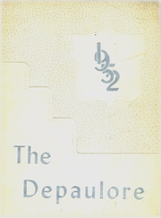 1952 Edition, St Vincents High School - Depaulore Yearbook (Plymouth, PA)