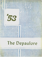 1953 Edition, St Vincents High School - Depaulore Yearbook (Plymouth, PA)