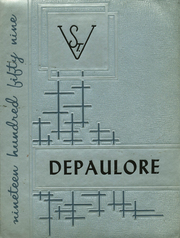 1959 Edition, St Vincents High School - Depaulore Yearbook (Plymouth, PA)